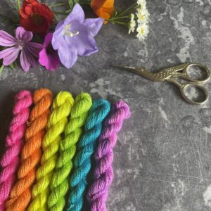 Threads, kits and necklaces